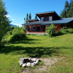 Log home rent BC